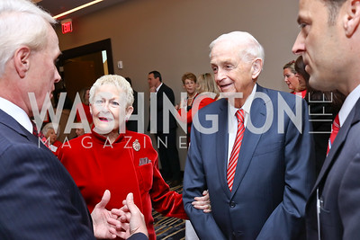 "Donna and Bill Marriott. Photo by Tony Powell. 2018 ""An Affair of the Heart."" Marriott Marquis. February 6, 2018"