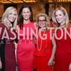 "Susan Romans, Coleen McCarthy, Jen Carroll, Julie Devol. Photo by Tony Powell. 2018 ""An Affair of the Heart."" Marriott Marquis. February 6, 2018"