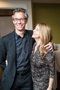David Simpson, Kathy Fletcher, First Annual All Our Kids Awards Dinner, AOK, at Sixth & I, February 15, 2018, photo by Ben Droz.