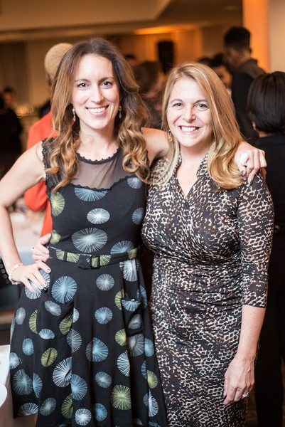 Nicole Alexiev, Kathy Fletcher, First Annual All Our Kids Awards Dinner, AOK, at Sixth & I, February 15, 2018, photo by Ben Droz.
