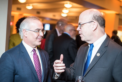 David Brooks, Congressman Jim McGovern, First Annual All Our Kids Awards Dinner, AOK, at Sixth & I, February 15, 2018, photo by Ben Droz.