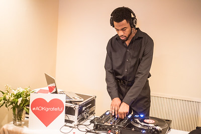 DJ  K O L E C O, First Annual All Our Kids Awards Dinner, AOK, at Sixth & I, February 15, 2018, photo by Ben Droz.