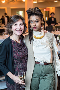 Claudia Zeldin, Kesari, First Annual All Our Kids Awards Dinner, AOK, at Sixth & I, February 15, 2018, photo by Ben Droz.