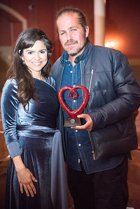 Larisa Martinez, Citizen Cope, First Annual All Our Kids Awards Dinner, AOK, at Sixth & I, February 15, 2018, photo by Ben Droz.