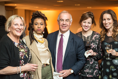 Sara Pratt, Kesari, David Brooks, Anne Snyder, Nicole Alexiev, First Annual All Our Kids Awards Dinner, AOK, at Sixth & I, February 15, 2018, photo by Ben Droz.