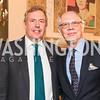 British Ambassador Kim Darroch, Kevin Chaffee, Photo by Alfredo Flores. An evening with Sir Tim Rice. The British Embassy. February 13, 2018.