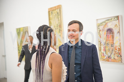 Juan Valadez, Rubell Collection, VIP Preview,  Art Basel, Miami Beach, December 2018. Photo by Ben Droz.