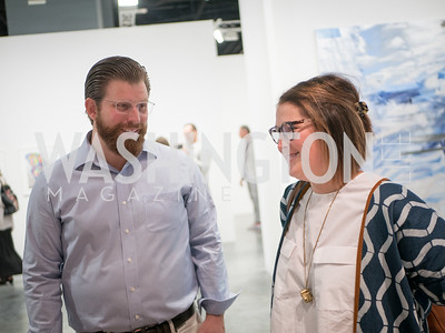 Todd Galaida, Kristi Maiselman, Cultural DC, Art Basel, Miami Beach, December 2018. Photo by Ben Droz.