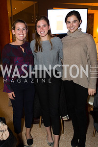 Caroline Karcher, Holly Fry, Katie Darden, Photo by Jay Snap | LaDexon Photographie, Capitol Club House Benefit, Embassy of Italy, Novermber 8, 2018