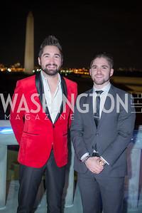 Jason Zuccari, Jarred Zuccari, Capitol Seniors Housing, 15th Anniversary Party.  November 8, 2018. Photo by Ben Droz.