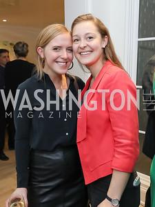 Helen Brosnan, Olivia Raisner. Photo by Tony Powell. Celebrating Kara Swisher. Bankoff Residence. November 19, 2018
