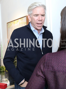 David Gregory. Photo by Tony Powell. Celebrating Kara Swisher. Bankoff Residence. November 19, 2018