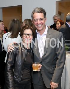 Kara Swisher, Jim Bankoff. Photo by Tony Powell. Celebrating Kara Swisher. Bankoff Residence. November 19, 2018