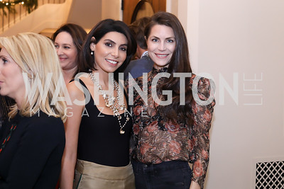 Samar Langhorne, Katelyn Haney. Photo by Tony Powell. Celebration of Washington Power Women. Quinn Residence. December 17, 2018