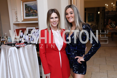 Kate Bennett, Jocelyn Quinn. Photo by Tony Powell. Celebration of Washington Power Women. Quinn Residence. December 17, 2018