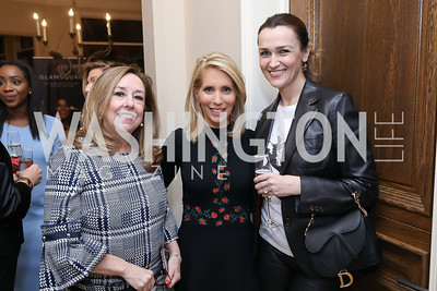 Pam Stevens, Dana Bash, Amra Fazlic. Photo by Tony Powell. Celebration of Washington Power Women. Quinn Residence. December 17, 2018