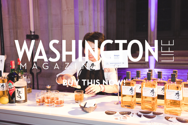 Mixologist Monica Lee of Daikaya. Photo by Bruce Allen. Chefs for Equality 10/9/18