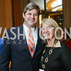 "William Kennedy Smith, Kathleen Matthews. Photo by Tony Powell. Chris Matthews ""Bobby Kennedy"" Book Party. Kennedy Center. November 29, 2017"