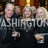"David Sproul, Kathleen Matthews, Robin Sproul. Photo by Tony Powell. Chris Matthews ""Bobby Kennedy"" Book Party. Kennedy Center. November 29, 2017"