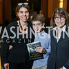"Courtney Carlson, Ben Yarkin, Margaret Carlson. Photo by Tony Powell. Chris Matthews ""Bobby Kennedy"" Book Party. Kennedy Center. November 29, 2017"