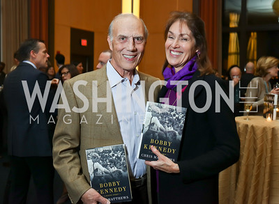 "Rob Liberatore and Debra Kraft Liberatore. Photo by Tony Powell. Chris Matthews ""Bobby Kennedy"" Book Party. Kennedy Center. November 29, 2017"