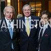 "Sen. Ed Markey, Bob Monahan, Robert Haft. Photo by Tony Powell. Chris Matthews ""Bobby Kennedy"" Book Party. Kennedy Center. November 29, 2017"