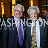 "Howard Fineman, Jerry Rafshoon. Photo by Tony Powell. Chris Matthews ""Bobby Kennedy"" Book Party. Kennedy Center. November 29, 2017"