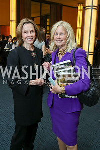 "Eden Rafshoon, Susan Blumenthal. Photo by Tony Powell. Chris Matthews ""Bobby Kennedy"" Book Party. Kennedy Center. November 29, 2017"