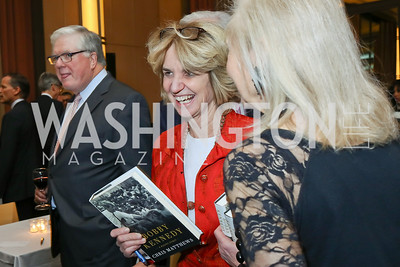 "Kathleen Kennedy Townsend. Photo by Tony Powell. Chris Matthews ""Bobby Kennedy"" Book Party. Kennedy Center. November 29, 2017"