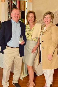 Will and Kristen Wanghorn, Courtney Strauss, Cocktails at Selma Mansion, June 7, 2018, Nancy Milburn Kleck