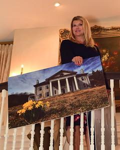 Sharon Virts, Host, Cocktails at Selma Mansion, June 7, 2018, Nancy Milburn Kleck