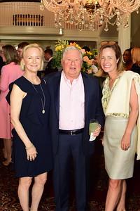 Marnie Price, Bob Foosaner, Kristen Langhorne, Cocktails at Selma Mansion, June 7, 2018, Nancy Milburn Kleck