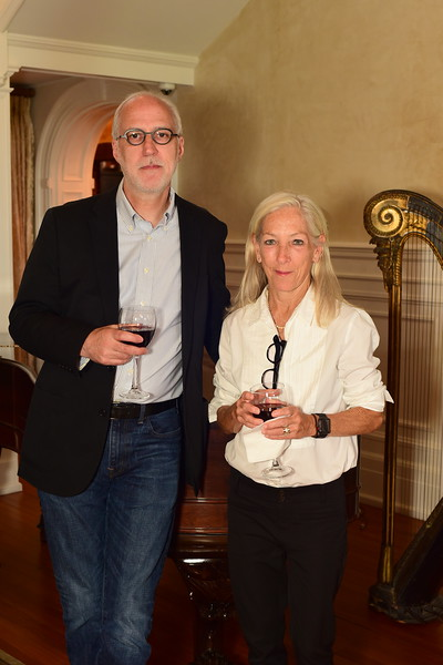 Doug and Lucy McCausland, Cocktails at Selma Mansion, June 7, 2018, Nancy Milburn Kleck