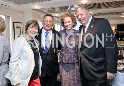 Cathy Reilly, Timothy Trudeau, Patricia Trudeau, Sen. Ed Reilly. Photo by Tony Powell. 2018 Colorectal Brunch. Cafe Milano. December 10, 2018