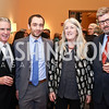 Carl Colby, Emanuele Amendola, Mary Beard, Former AUR President Richard Hodges. Photo by Tony Powell. Conversation with Mary Beard. Italian Embassy. February 23, 2018