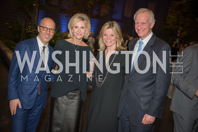 Ivan Shaw, Mary Haft, Kay Kendall, Jack Evans,  Conversation with Supermodel Patti Hansen and Ivan Shaw, National Portrait Gallery, October 11, 2018.  Photo by Ben Droz.
