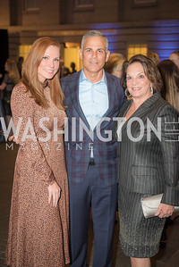 Amanda Polk, Curtis Polk, Grace Bender, Conversation with Supermodel Patti Hansen and Ivan Shaw, National Portrait Gallery, October 11, 2018.  Photo by Ben Droz.