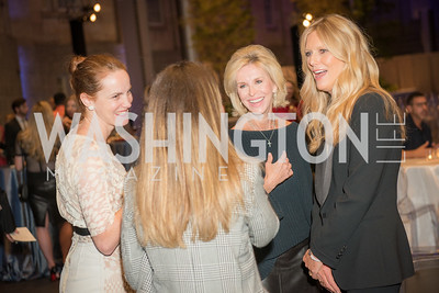 Kate Goodall, Mary Haft, Patti Hansen,  Conversation with Supermodel Patti Hansen and Ivan Shaw, National Portrait Gallery, October 11, 2018.  Photo by Ben Droz.