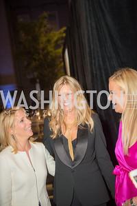 Dana Bash, Patti Hansen, Susanna Quinn,  Conversation with Supermodel Patti Hansen and Ivan Shaw, National Portrait Gallery, October 11, 2018.  Photo by Ben Droz.