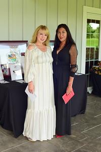 Sonia Jordan and Jackie Ascencio, Creighton Farms Invitational Dinner, June 24, 2018, Nancy Milburn Kleck