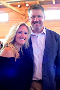 Missy and John Hand,  Creighton Farms Invitational Dinner, June 24, 2018, Nancy Milburn Kleck
