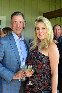 Scott and Wendy Brewer,  Creighton Farms Invitational Dinner, June 24, 2018, Nancy Milburn Kleck
