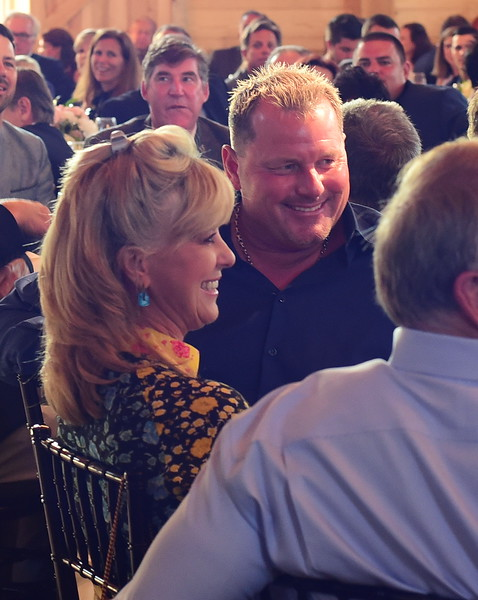 Roger and Sheila Clemens,  Creighton Farms Invitational Dinner, June 24, 2018, Nancy Milburn Kleck