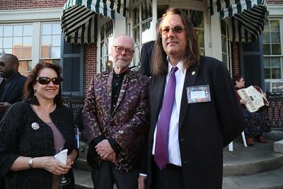 Laura Roulet, Frank Day, Phillip Barlou, DC Art Center, Cuisine des Artistes, the Woodrow Wilson House, May 24, 2018