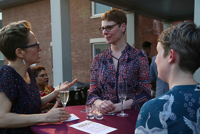 Fabiola Yurcisim, Caroline Daw, Blair Murphy,DC Art Center, Cuisine des Artistes, the Woodrow Wilson House, May 24, 2018