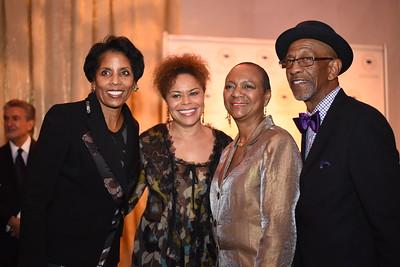 Lisa Davis, Cheryl Cooper, Ardamia Williams, Linwood Williams. DC CAPital Stars Tallent Competition. February 28, 2018. Amanda Warden.