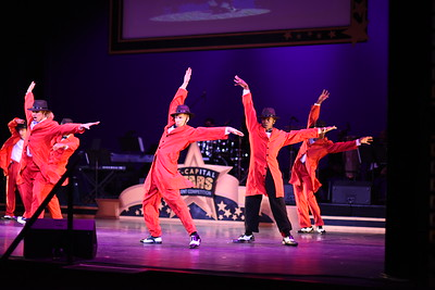 The Semi Finalists Performance of A Harlem Renaissance Revival. DC CAPital Stars Tallent Competition. February 28, 2018. Amanda Warden.