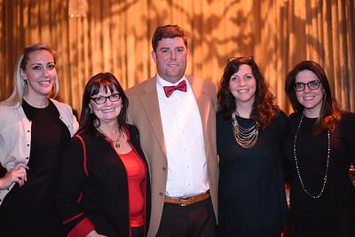Anna, Ronna & Sydney Butler, Katharine & Jonathan Burton. DC CAPital Stars Tallent Competition. February 28, 2018. Amanda Warden.