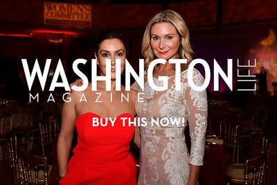 WASHINGTON, DC - FEBRUARY 9:  Micky Farivar and Angela Steever attend the D'Vine Affair at the Embassy of Italy on February 9, 2018 in Washington, DC.  (Photo by Larry French/Washington Life Magazine)