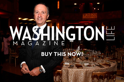 WASHINGTON, DC - FEBRUARY 9:  His Excellency the Ambassador of Italy to the United States Armando Varricchio attends the D'Vine Affair at the Embassy of Italy on February 9, 2018 in Washington, DC.  (Photo by Larry French/Washington Life Magazine)